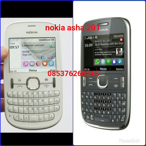 Foto Produk hp nokia asha 201 qwerty dari request shop