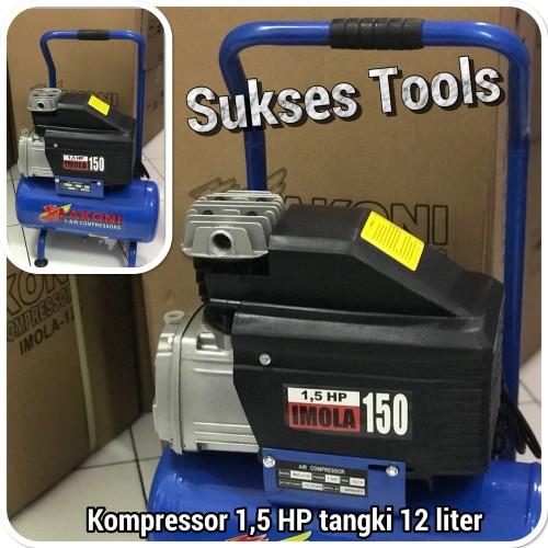 Foto Produk Kompressor Lakoni 1,5 HP 12 liter Imola 150 Imola150 (Gojek Instan) dari Sukses Tools