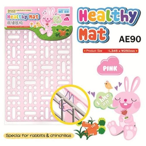 Foto Produk AE90 Alice Healty Mat - Pink Alas Kandang Kelinci Chinhilla dari Hime petshop