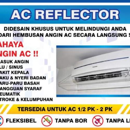 Foto Produk acrylic ac/akrilik ac/talang ac/penghalang angin ac 2pk -2.5 pk p120cm dari Blessing acrylic