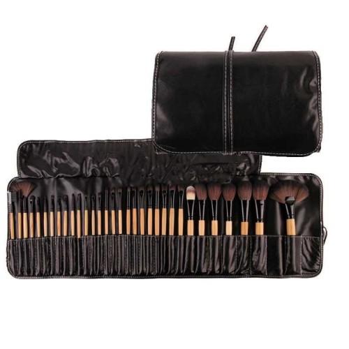 Foto Produk Professional Brush Make Up 32 Set dengan Pouch dari SanLa Shop