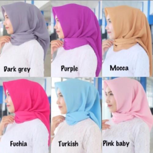 Foto Produk Fashion Muslimah - Kerudung Hijab Jilbab Bella Square dari Antique House