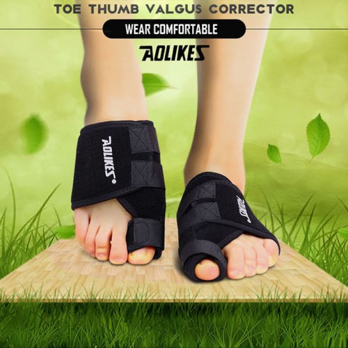 Foto Produk AOLIKES 1PCS Toe Correction Thumb Big Bone Toe Corrector Bunion Aid - KANAN dari Fiandra Shop
