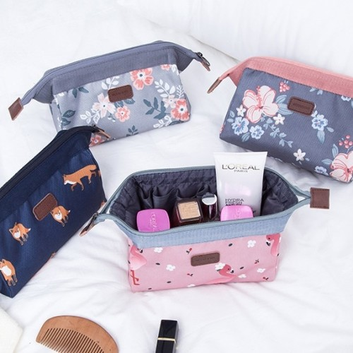 Foto Produk Weekeight Charming Water Resistant Cosmetic Cube Pouch VER 2 / Tas - AUTUMN PARTY dari EnnWen Online Store