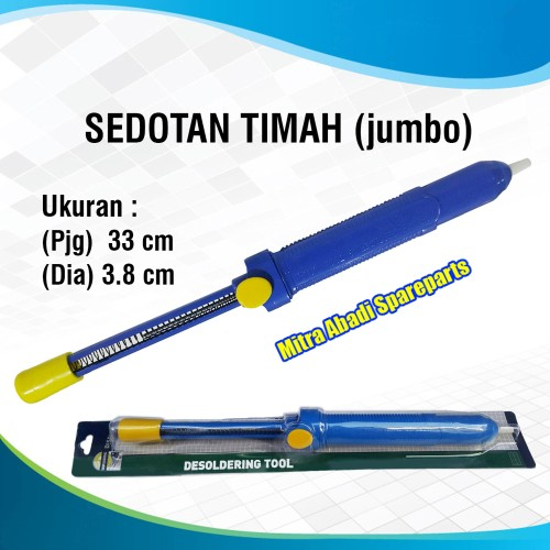 Foto Produk Pompa Sedot Timah/Desoldering Pump Jumbo 33 cm dari Mitra Abadi Spareparts