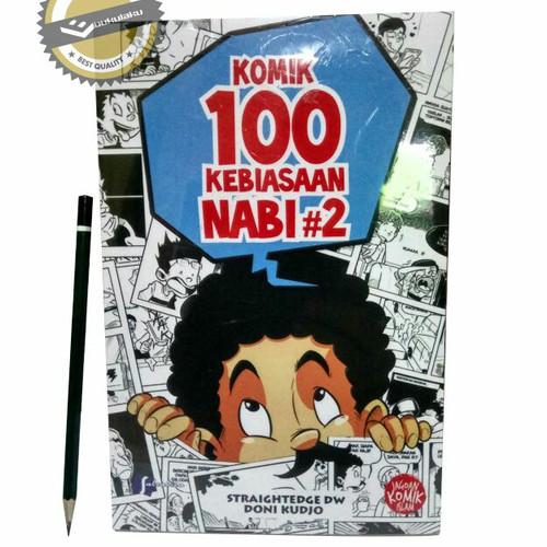 Foto Produk Komik Anak Muslim : 100 Kebiasaan Nabi Jilid #2 - Komik Islam dari bukulaku.id