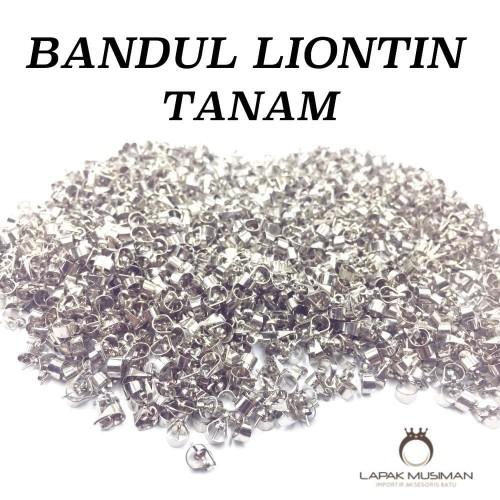 Foto Produk BANDUL BATU LIONTIN TITANIUM MODEL TANAM dari Lapak Musiman