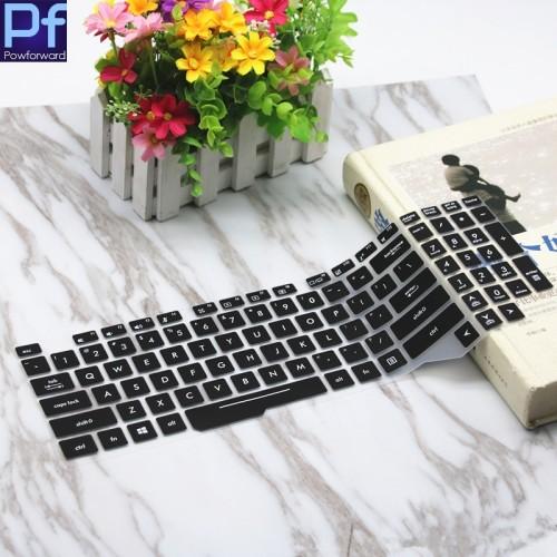 Foto Produk Asus ROG GL503 FX503 FX63 Black Laptop Keyboard Protector Cover - Hitam dari Gadget_Bro