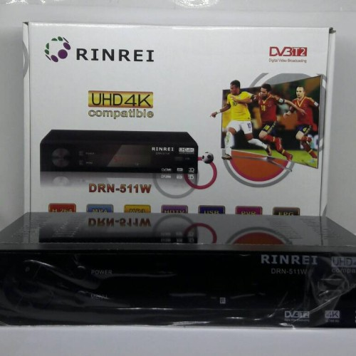 Foto Produk DVB T2 Set Top Box Digital Tv Receiver RINREI DRN-511W dari Asia Jaya III