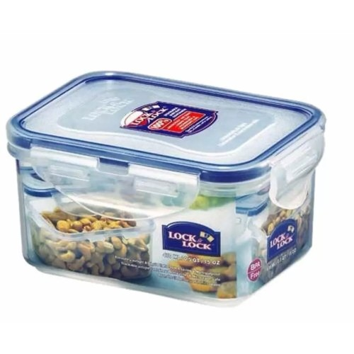 Foto Produk Lock&Lock Food Container HPL807- RECTANGULAR SHORT 470ML Limited dari Store_Hitz