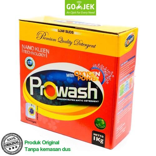 Foto Produk PROWASH Deterjen per KG / Detergent Mesin Cuci / Laundry dari Tasneem