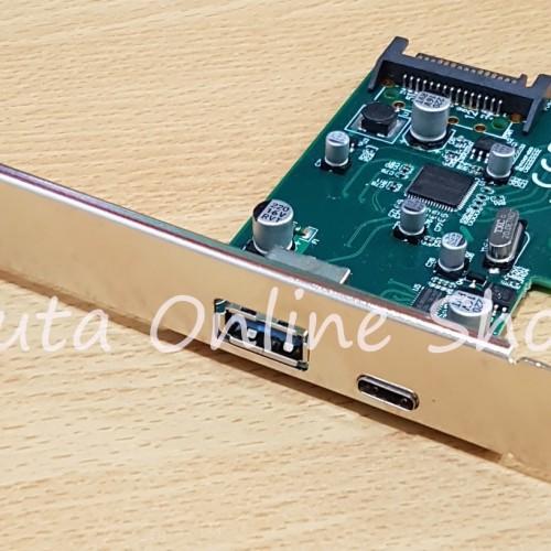 Foto Produk PCI Express Card X4 / X16 to USB 3.1 dan USB 3.0 High Speed dari Duta Online Shop
