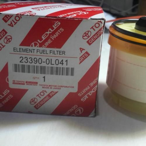 Foto Produk filter solar fuel filter innova hilux fortuner pajero dari grosir oli harga partai