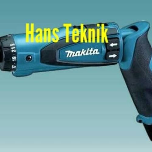 Foto Produk Makita DF 010 DSE Cordless Driver Drill / Obeng Elektrik - DF010DSE dari Hans Teknik
