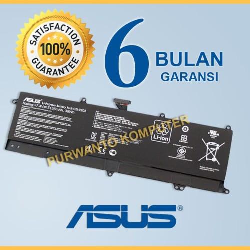 Foto Produk Original Baterai Asus Eee PC X201 X201E X202 X202E C21-X202 Tanam dari Purwanto Komputer