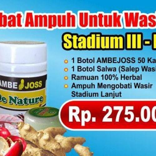 Foto Produk Obat Wasir Ambeien Ambejoss Dan Salep Salwa dari Ria Juragan Herbal