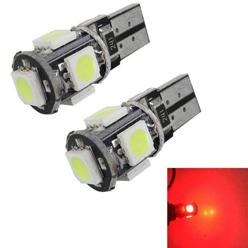 Foto Produk LAMPU LED T10 1,5W MERAH SMD 5050 5 LED dari Anugrah Mentari