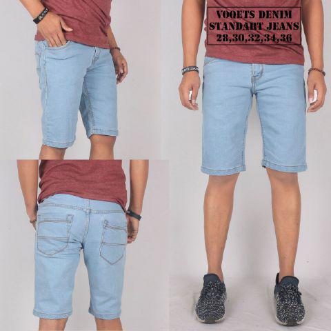 Foto Produk Celana jeans pendek pria / jeans strit pendek / jeans pendek skinny dari Dna Store Bandung13