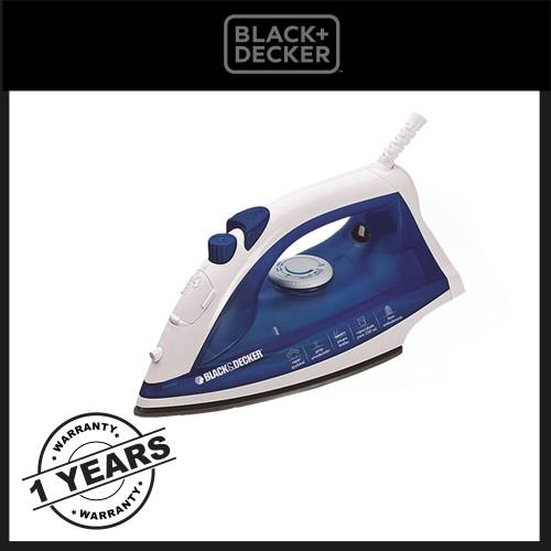 Foto Produk Black And Decker Home Steam Iron 450W -- AJ2000 dari Black+Decker