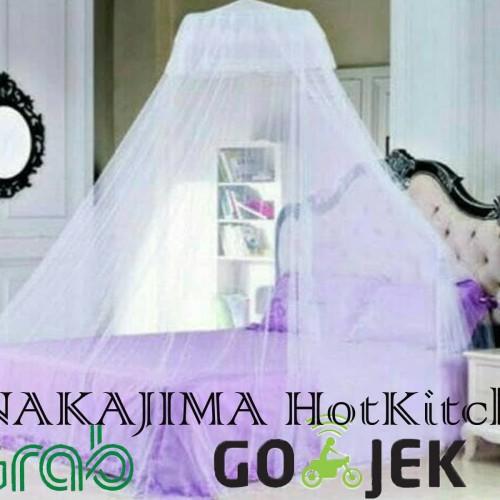 Foto Produk Kelambu Gantung Anti Nyamuk All Size Tempat Tidur Mosquito Net Klambu dari NAKAJIMA  HotKitchen
