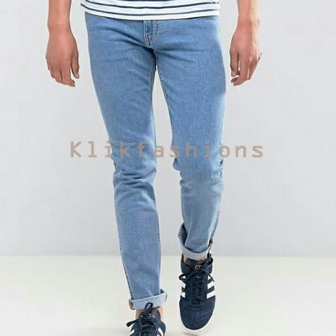 Foto Produk Celana Jeans Denim / Blue Light / Celana Denim / Celana Strec dari Klik Fashionable