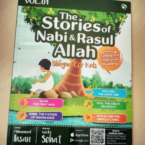 Foto Produk The Stories Of Nabi & Rasul Allah Vol.01 dari cerdas media