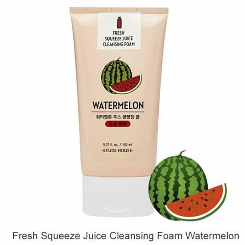 Foto Produk ETUDE fresh squeeze juice cleansing foam Pineapple dari Korean US cosmetics
