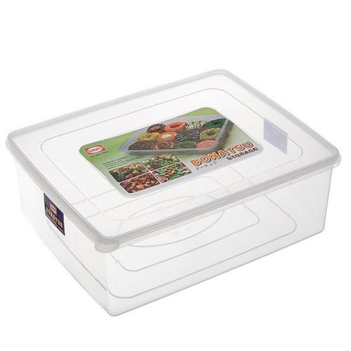 Foto Produk Kotak/Sealware segi tempat donat kue Donatsu 11.5 Ltr 306 L Shinpo dari sukses makmur plast
