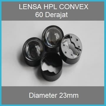 Foto Produk Lensa LED convex 23mm 60 derajat dari Hobi Led