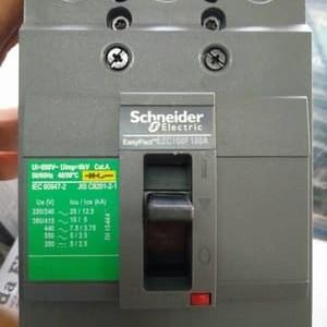 Foto Produk MCCB/BREAKER EZC100F 100A 10KA 3POLE. NO REF. EZC100F3100 dari Kencana Mas Elektrik