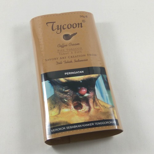 Foto Produk Tycoon Coffee Cream Pipe Tobacco (Pouch 50g) - Tembakau Pipa Cangklong dari Javan Cigars