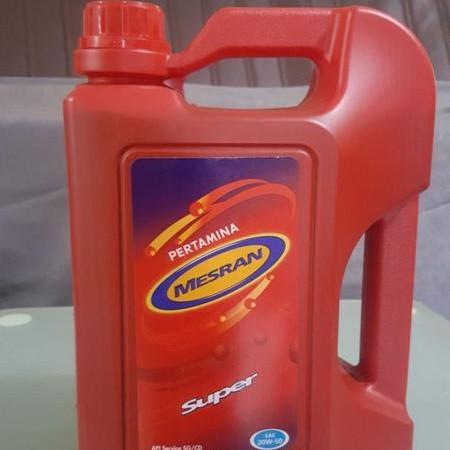 Foto Produk Oli Mesin Mesran Super 4 lt pertamina -04500- dari Jasutra motor