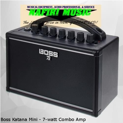 Foto Produk Boss Katana Mini - 7-watt Combo Amp dari Nafiri Music Store