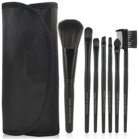 Foto Produk Professional Make Up Brush Kit 7 in 1 with Pouch dari BandungBmMall