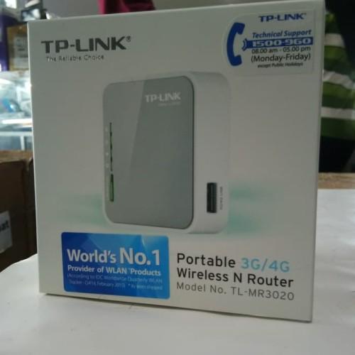Foto Produk SALEN ORIGINAL - TPLINK TL-MR3020 WirelessPortable Router dari Maduri Rezeki