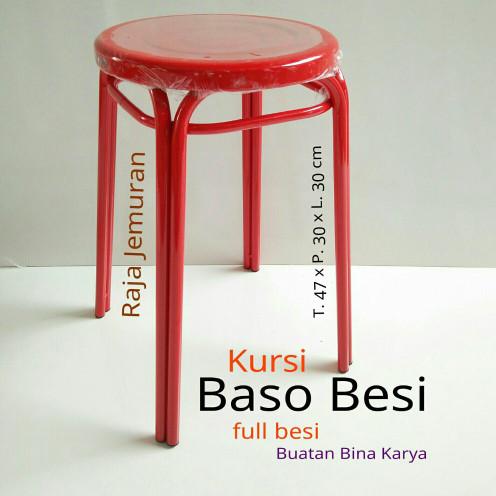 Foto Produk Kursi Baso Besi Bina Karya - Biru dari Raja Jemuran