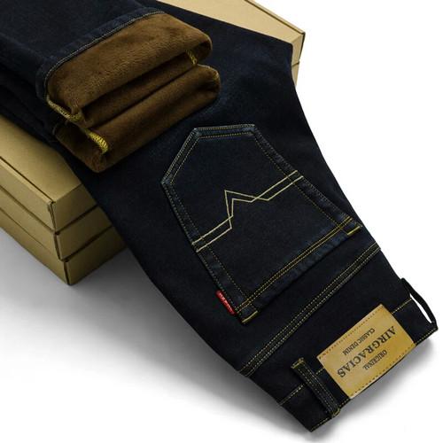 Foto Produk Celana jeans winter velvet pria import dari tokobintang-angkasa