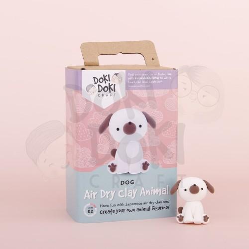 Foto Produk Animal Clay Craft Kit - DIY - Dog / Anjing Kerajinan Tangan dari Doki Doki Craft