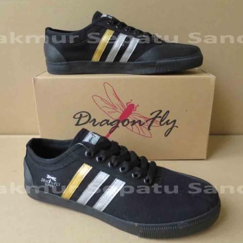Foto Produk Sepatu Capung - Dragonfly Amazon - Hitam - 37 dari Makmur Sepatu Sandal