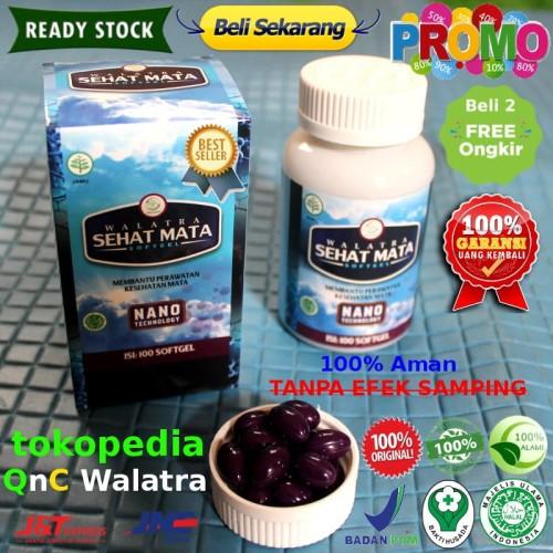 Foto Produk Walatra Sehat Mata Softgel 100% ASLI Original dari QnC Walatra