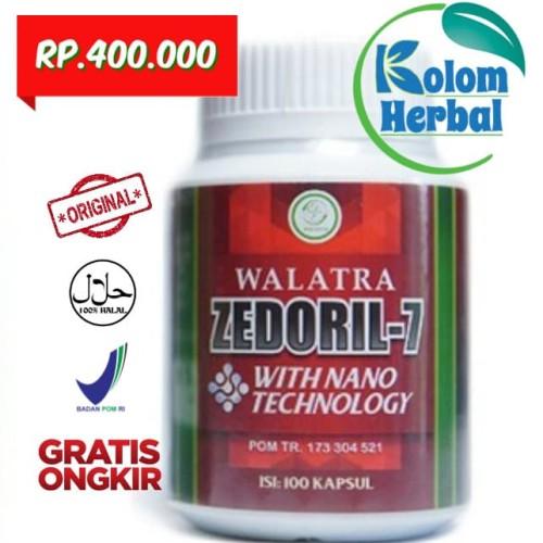 Foto Produk Walatra Zedoril-7 Bersih Kanker 100% ORIGINAL dari Kolom Herbal