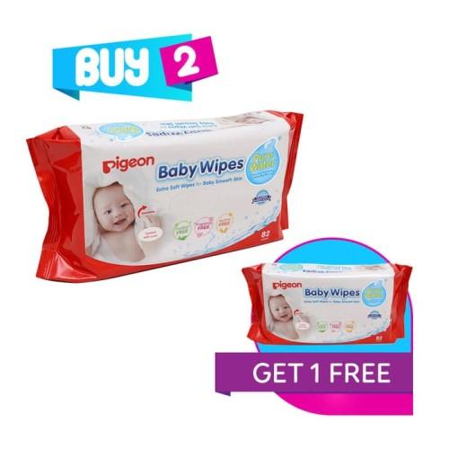Foto Produk Pigeon - Baby Wipes Pure Water P3 dari Chubby Baby Shop
