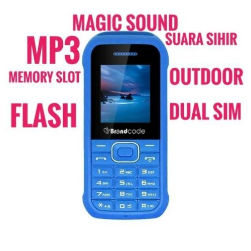 Foto Produk BRANDCODE B17C OUTDOOR MAGIC SOUND SIHIR SUARA KAMERA DUAL SIM HP dari Kania pedia