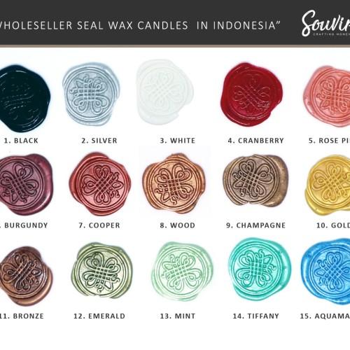 Foto Produk Seal Wax Candle - Lilin Stempel dari Souvire