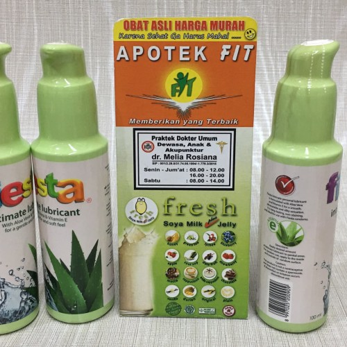 Foto Produk Fiesta lubrican gel Intimate With Aloe Vera & Vitamin E dari FIT MEDICA