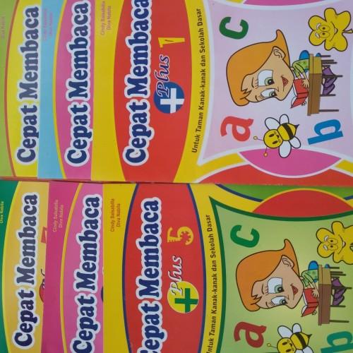 Foto Produk paket buku cepat membaca plus jilid 1-8 dari brojo