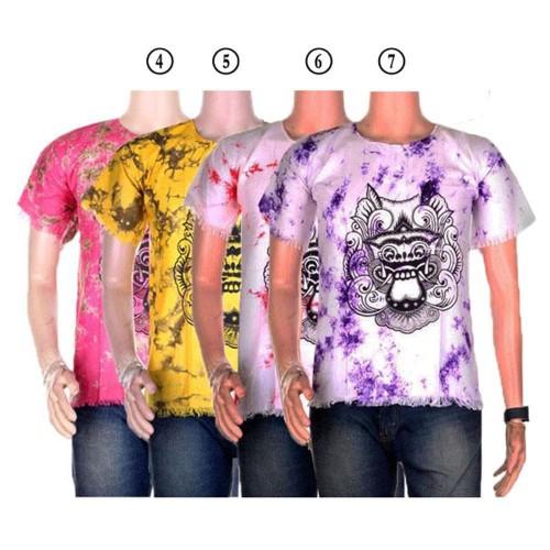 Foto Produk kaos batik murah kaos pantai barong bali 2 dari Diyas Onlineshop