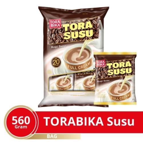 Foto Produk Torabika Susu Extra Full Cream Bag 20 Sachet @28 Gr dari Mayora Official Store
