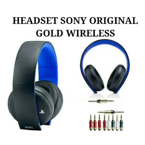 Foto Produk HEADSET PS4 SONY GOLD WIRELESS STEREO dari Divisi Game