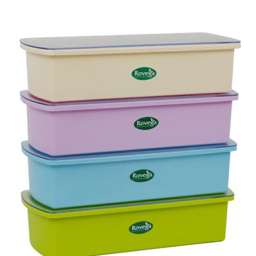 Foto Produk Rovega Cutlery Box Storage Tempat Peralatan Makan Sendok Garpu Sumpit dari Fanny OnlineShop